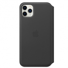 Iphone 11 Pro Max Leather Black