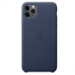 Iphone 11 Pro Max Leather Blue