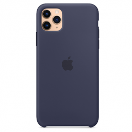 Iphone 11 Pro Max Silicone Blue