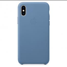 Iphone Xs Leather Case Cornflower