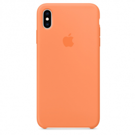 !iphone Xs Max Silicone Case Papaya
