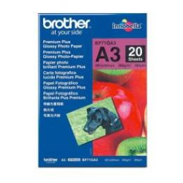 Papel Glossy A3 20H Brother