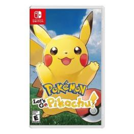 Switch Pokémon Let S Go Pikachu!