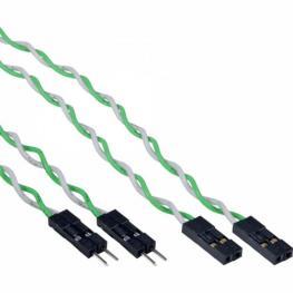 Alargador Usb Interno 4Pin Cables Separados. 0.3M