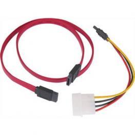 Cable Datos Serial Ata y Adaptador Corriente Sata