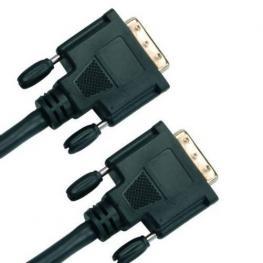 Cable Dvi-Dvi 2M. Negro