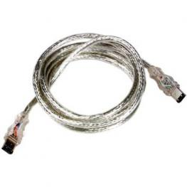 Cable Firewire/ieee-1394 Flashing Cable de Datos, 1,8M, Azul