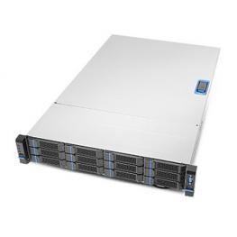 Chenbro Rm23712M3-800L6 2U Con 12 Bahías Hd Hot-Swap y 800W