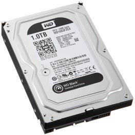 Hdd 1Tb Western Digital Black 3.5 Sata3 7200Rpm