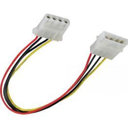 Inline 29650D. Cable Alargador Alimentación Molex 4-Pin 100Cm.
