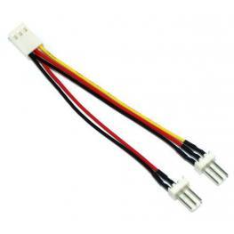 Inline 33433. Ladrón Cable Molex 3-Pin. 1 Hembra X 2 Macho