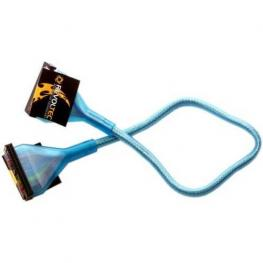 Revoltec Rc015. Cable Floppy Uv Redondo, 48 Cm