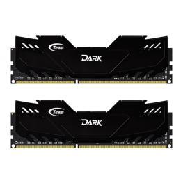 Team Dark Black 16Gb (2X8Gb) Ddr3 1866Mhz 1.5V