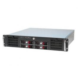 Travla T-2340. Caja Rack 2U 0W 4 Hd Hot-Swap Micro -Atx