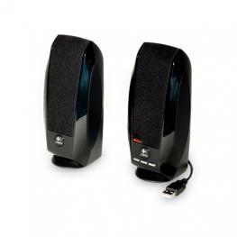 Altavoces 2.0 Logitech S150 Negro