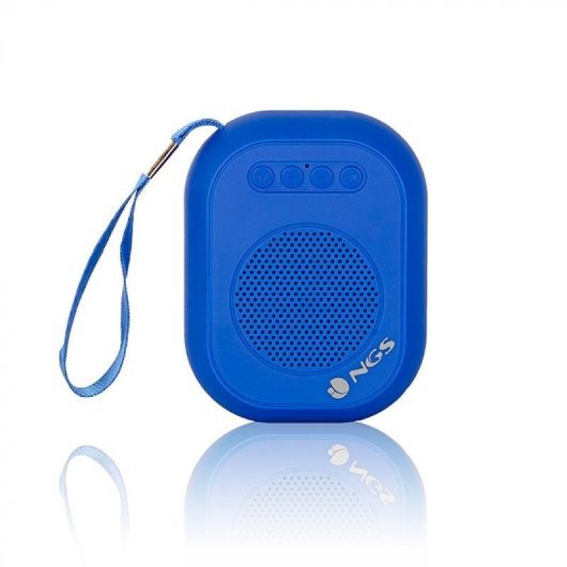 Altavoz Bluetooth Portátil Ngs Roller Dice 3W Usb 600 Mah Fm