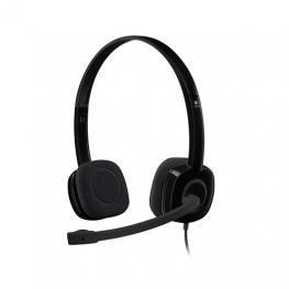Auriculares Micro Logitech H151 Negro