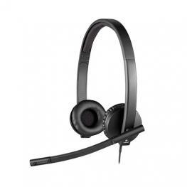 Auricularesmicro Logitech H570E Estereo Negro