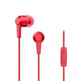 Auricularesmicro Pioneer Se-C3T-R Rojo