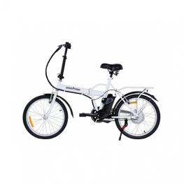 Bicicleta Electrica 20  Skateflash Color Blanco