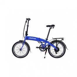 Bicicleta Electrica 20  Skateflash Pro Color Azul