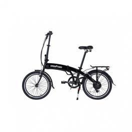 Bicicleta Electrica 20  Skateflash Pro Color Negro