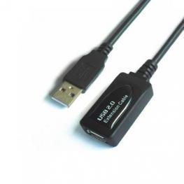 Cable Extensor Usb(A) 2.0 A Usb(A) 2.0 Aisens 15M Negro