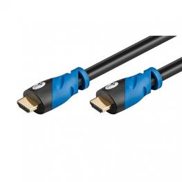 Cable Hdmi(A) A Hdmi(A) 4K 6M Goobay Negro/azul