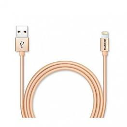 Cable Lighting+Micro Usb (B) A Usb Adata 1M Dorado