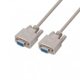 Cable Serie Rs232  Db9 H-H Aisens Beige 1.8M Beige