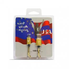 Cable Usb(A) A Micro Usb(B) Leaderinmy Lmy8