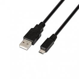 Cable Usb(A) A Mini Usb(B) 2.0 Aisens 1M Negro
