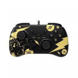 Gamepad Hori Controller Mini Pikachu Black   Gold