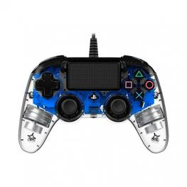 Gamepad Nacon Ps4 Cristal Azul