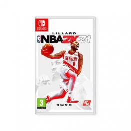 Juego Nintendo Switch Nba 2K21