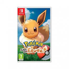 Juego Nintendo Switch Pokemon Lets Go Eevee
