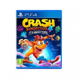 Juego Sony Ps4 Crash Bandicoot 4 Itâ´s About Time