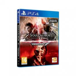 Juego Sony Ps4 Tekken 7 + Soulcalibur VI
