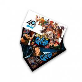 Pack de 4 Stickers Consola Neo Geo Mini