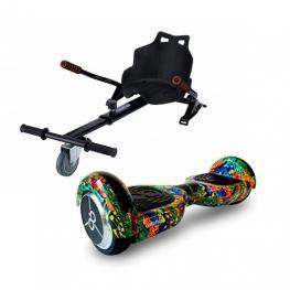 Pack Hoverboard K6+Skater + Hoverkart Skateflash