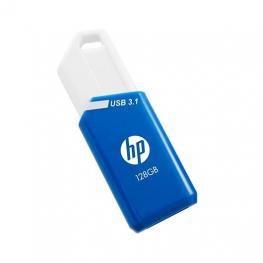 Pendrive 128Gb Usb 3.1 Hp X755W Azul/blanco