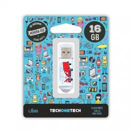 Pendrive 16Gb Tech One Tech Camper Van-Van