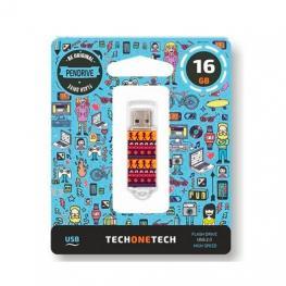 Pendrive 16Gb Tech One Tech Tribal Questions