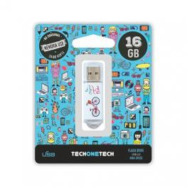 Pendrive 32Gb Tech One Tech Be Bike