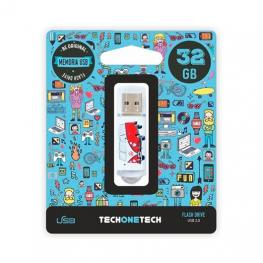 Pendrive 32Gb Tech One Tech Camper Van-Van