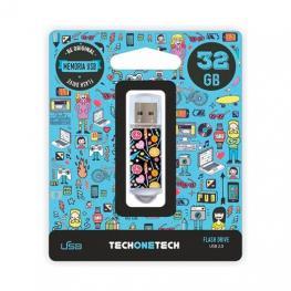 Pendrive 32Gb Tech One Tech Candy Pop