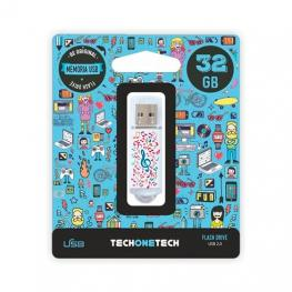 Pendrive 32Gb Tech One Tech Music Dream