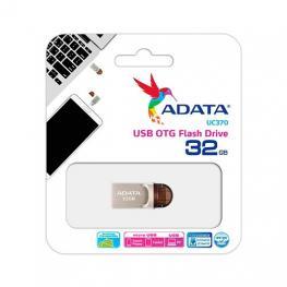 Pendrive 32Gb Usb3.1 Adata Uc370 Otg Plata