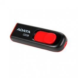 Pendrive 64Gb Usb2.0 Adata Ac008 Negro / Rojo