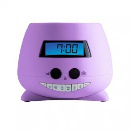 Radio Despertador Bigben Rpeunicorn Violeta